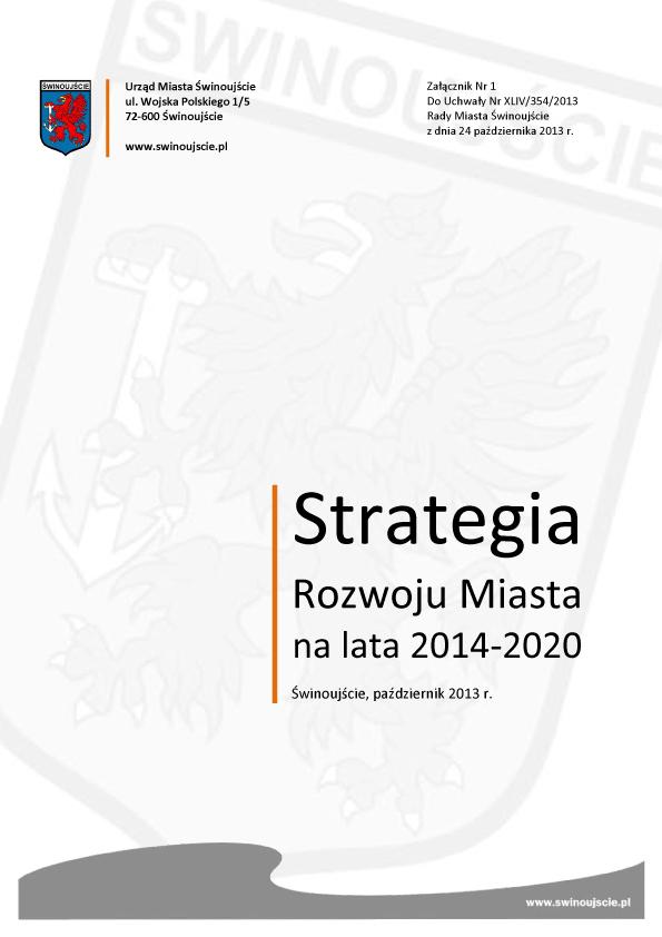 Strategia Rozwoju Miasta na lata 2014-2020